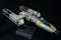 Star Wars 49212: Y-Wing Star Fighter (1:72 Scale) -> BUY IT NOW ONLY: $36.99 on eBay!