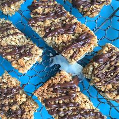 Coconut and chia seed granola bars and a fab Nature's Path giveaway - ENGLISH MUM
