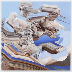 ARTIST: Kei Imazu 'Battle Between Lapiths & Centaurs' 2015 - Gallery: Yamamoto Gendai via: #Artsy |  #Yellowmenace #JapaneseArt #contemporaryart #Asianart #painting