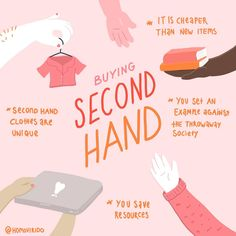 Buying second hand is awesome! of the clothes I bought in the last year are second hand and I am also a fan of getting things at flea Fast Fashion, Slow Fashion, Ethical Fashion, Ethical Clothing, Sustainable Living, Sustainable Fashion, Sustainable Textiles, Sustainable Gifts, Sustainable Clothing