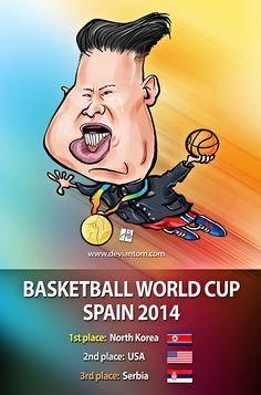 #Kim #Jong #Un Caricature by Tomislav Zvonaric - Deviantom 2014 all rights reserved
