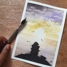 """Chief's Stones"" A Moana inspired artwork   Fanart  ShinHan Art Watercolors on Canson Montval 300gm"