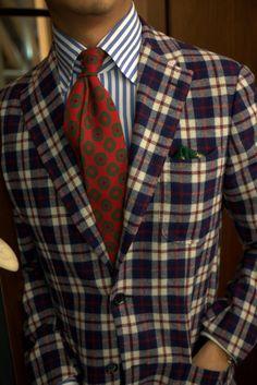 GODDAMN PATTERN MIXING // preppy men\'s fashion blog