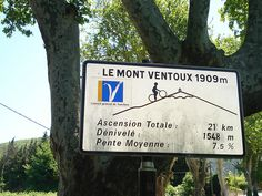 Mont Ventoux 1909 m