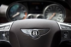 Bentley interior.