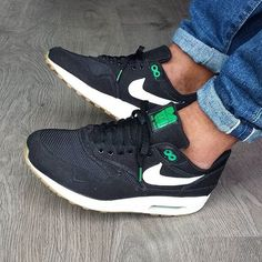 @djamesandrew rocking, in my opinion, one of the best sneakers of all time, the #patta x #airmax1 'Lucky Green' ! Keep tagging your shots with #wearyourair for a feature!