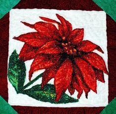 Advanced Embroidery Designs - Poinsettia