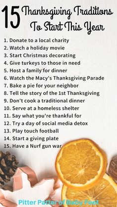 15 Family Thanksgiving Traditions To Start This Year ~