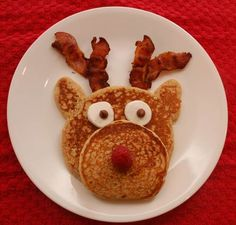 Our Christmas Eve breakfast. We're on the watch for Rudolph and his buddies! We have cookies for Santa ready and magic r. North Pole Breakfast, Breakfast For Kids, Christmas Activities For Families, Family Activities, Good Food, Yummy Food, Fun Food, Yummy Treats, Christmas Morning Breakfast