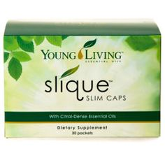 Slique Slim Caps - 30 Packets Start your weighloss journey today with Slique! Taking as directed these Slim caps may help manage satiation which plays a huge factor in weight gain.  For more info pease visit my website at: Healingdrops.younglivingworld.com 1471052
