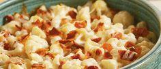 Cauliflower Gratin with Prosciutto and Cheddar