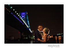 Winter wedding, Philadelphia wedding, La Peg, Modern Wedding, Photography, Bride and Groom, Night Portrait