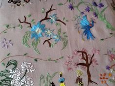 Broderie chinoise antique. Cutwork, Napkins, Chinese Embroidery, Child Room, Children, Towels, Napkin