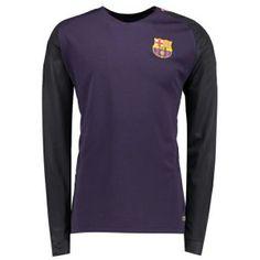 16-17 Football Shirt Barcelona Away Long Sleeve Cheap Replica Shirt [G00594]