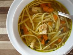 how to make homemade chicken noodle soup | from @Liza Flores Hawkins