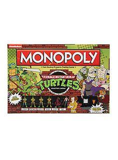Monopoly: Teenage Mutant Ninja Turtles Collector's Edition Board Game,
