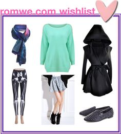 """romwe wishlist"" by lavagrantbelle on Polyvore"