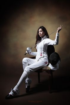 I find there is something so classy and attractive about female fencers.