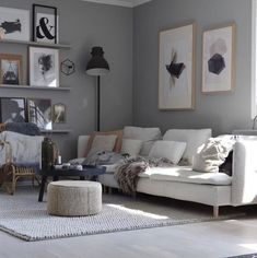 Simplicity paired with practicality and good materials = Scandinavian beauty at its best! Söderhamn sofa with our Carl Ash Thanks for inspiring us! 35 Newest Small Living Room Sofa Beds Apartment Ideas Söderhamn Sofa, Sofa Bed Set, Ikea Couch, Living Room Decor Cozy, Living Room Bedroom, Home Room Design, Living Room Designs, Apartment Makeover, Apartment Ideas