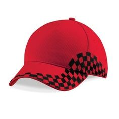 #RACING #CAPS 100% Cotton Drill 5 panel Pre-curved peak Stitched ventilation eyelets Perfect for print and embroidery Rip-Strip™ size adjuster #connexpromotion http://www.connex.no/caps.html
