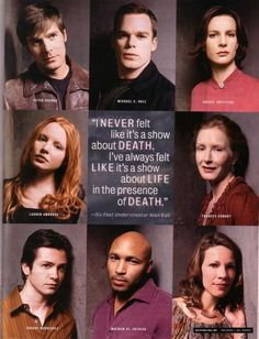 This series' finale was probably the greatest hour on television EVER! ~~ one of the greatest five years of my life, watching this series. Best Tv Shows, Best Shows Ever, Favorite Tv Shows, Movies Showing, Movies And Tv Shows, 6 Feet Under, Michael C Hall, Hbo Tv Series, Freaks And Geeks