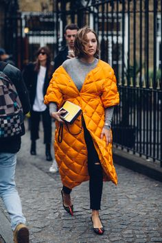 On the street at London Fashion Week. Photo: Moeez Ali/Fashionista.