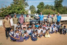 Land Rover Cements Born Free Partnership Announcing their Support of Tiger Conservation Project