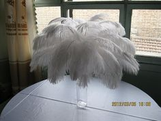 plumas de avestruz de 100pcs centro de mesa por weddingfeather