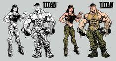 Bodybuilding Pictures, Color Art, Fantasy Women, Human Anatomy, Gym Rat, Powerlifting, Zbrush, Overwatch, Hulk