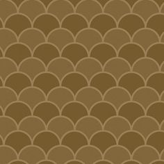 Mocha Scallops contact paper / shelf liner. This scallop pattern features shades of light and medium brown.
