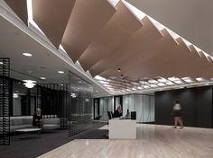 Client Floor, NAB, Sydney Australia designed by Geyer