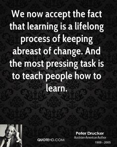 Learning Process quote #1