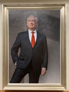 BEHOLD: Mattis' official SecDef portrait shows him sheathing his knife hand in his pocket General James Mattis, Jim Mattis, Marine Corps Uniforms, Army Times, Strait Of Hormuz, Veterans Affairs, Warrior Quotes, Navy Military