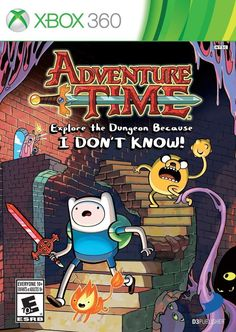 Adventure Time: Explore the Dungeon Because I Don't Know - Xbox 360 Game