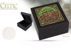 NobleWares Image of Celtic Tree Of Life Box 9810 by Pacific Giftware
