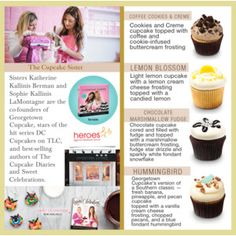 Cupcake Decor / 1th Look