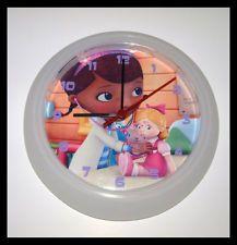 doc mcstuffins bedroom doc mcstuffins white wall clock approx 25cm diameter bedroom