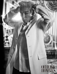 T.O.P | L'Officiel Hommes' (January 2015)