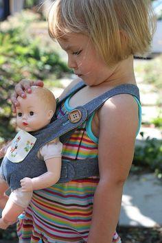 wearing baby girl