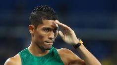 Olympics Rio Wayde van Niekerk smashes world record, wins gold World Records, Wayde Van Niekerk, Michael Johnson, Rio 2016, My Heritage, African History, Track And Field, Videos