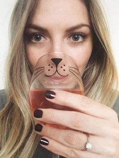 Cat Whiskers 16oz wine glass! The purrfect gift for any cat lover! → ORDER ← • Select Vinyl color through dropdown menu at checkout → PRODUCT DETAILS ← • High Quality Outdoor Vinyl on 16oz Wine Glass • Please hand wash with care for best results → OTHER CAT ITEMS ← • Mug: