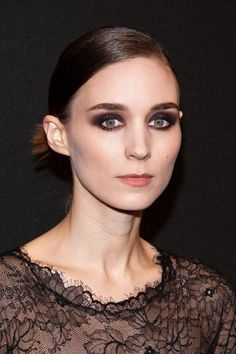 The back of Rooney Mara's hair is next-level awesome