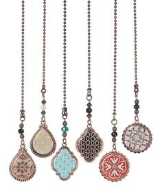 Look what I found on #zulily! Decorative Fan Pull - Set of Six #zulilyfinds