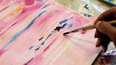 Art Therapist Esther Dreifuss-Kattan helps cancer patients draw and paint to express their feelings graphically. This brings unconscious feelings to the surf...
