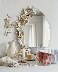 Jode Designs: Think outside the square.. Modern mirrors..