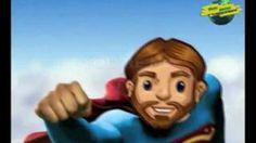 JESUS IS MY SUPER HERO, via YouTube.