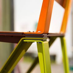 "Chair ""Layers"" by Dimitri Kruithof.  #designweek #designweekmilano #designweek2016 #fuorisalone #fuorisalone2016 #fuorisalonemilano #milanogram2016 #mdw2016 #LivingSalone #mdw16 #nikond7200 #igersmilano #nikonitalia #thechairproject #kruithof @venturaprojects #dutchdesign"
