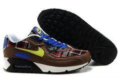 Nike Air Max 90 Womens Denim Brown Maize Royal