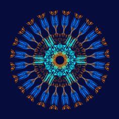 causalité, engendrement !  causality !! causalidade !! Mandala de Pierre Vermersch Digital Drawings