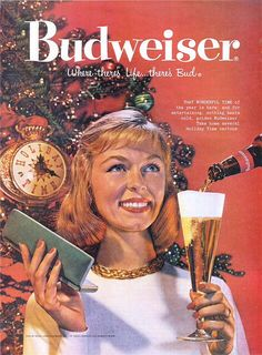 Budweiser beer Christmas advertisement
